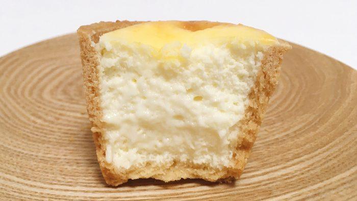 東京駅のチーズ菓子専門店フロマージュテラの焼きカップチーズ断面