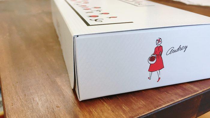 お菓子屋オードリーのパッケージ
