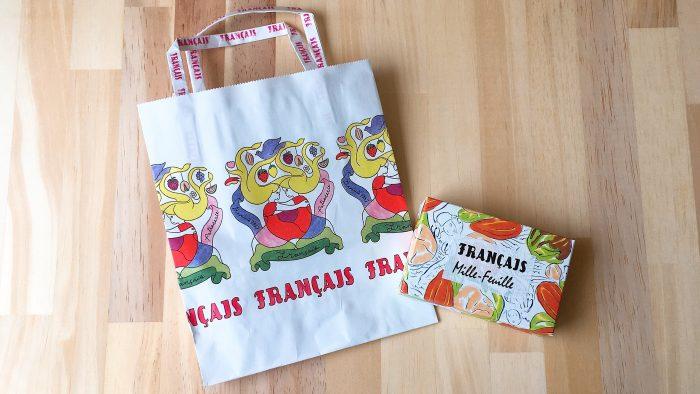 Francais(フランセ)のショッパー・紙袋とミルフィユ
