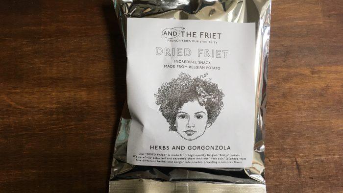 AND THE FRIET(アンドザフリット)のハーブゴルゴンゾーラのパッケージ