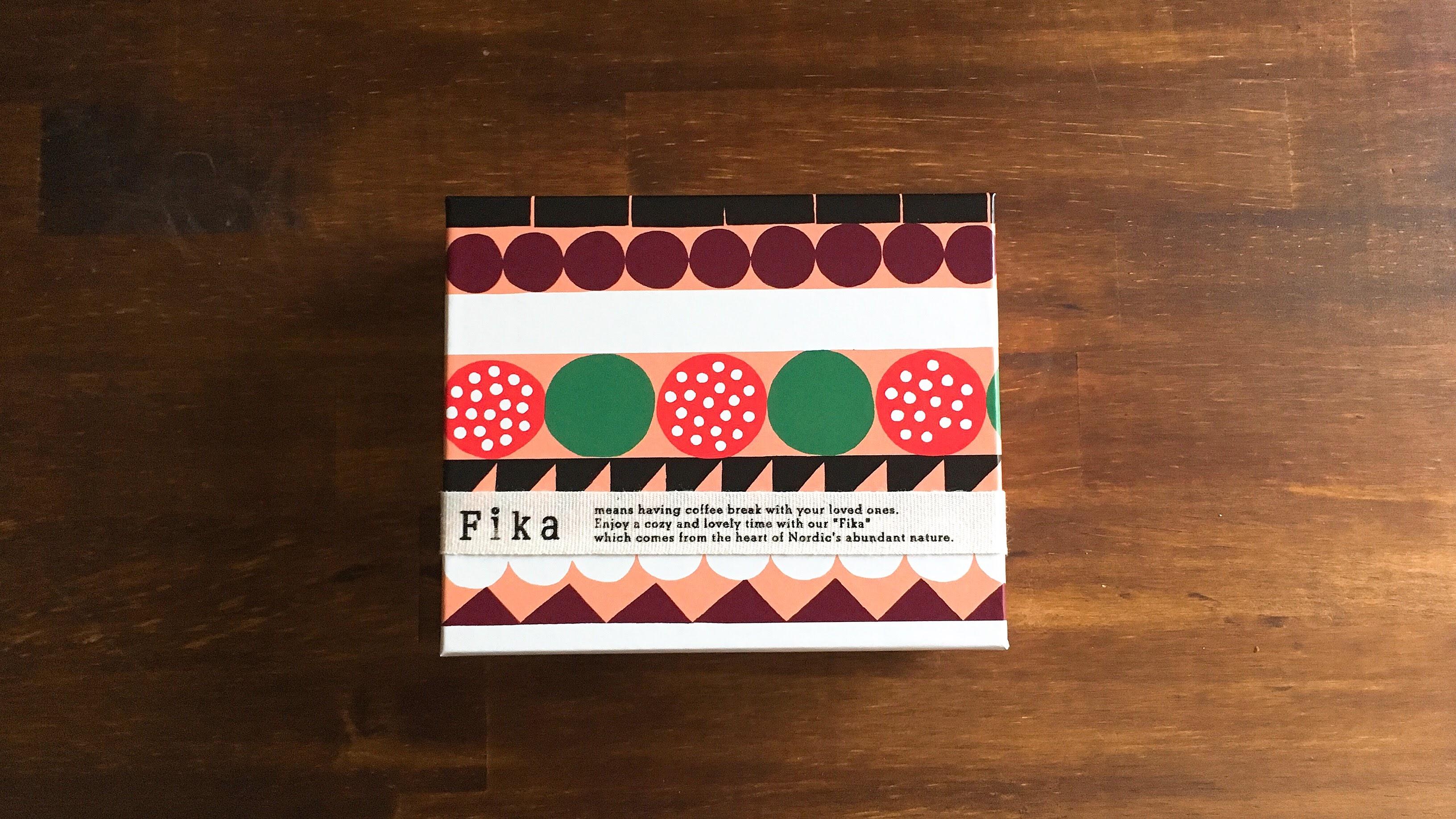 fika(フィーカ)のハッロングロットルクッキーの箱