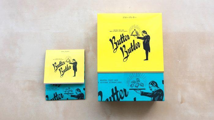 新宿ニュウマンのお土産店バターバトラーのパッケージ