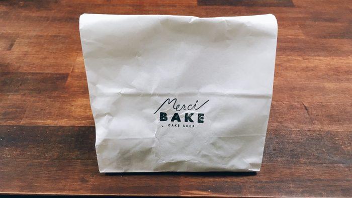 世田谷の洋菓子店メルシーベイクのパッケージ