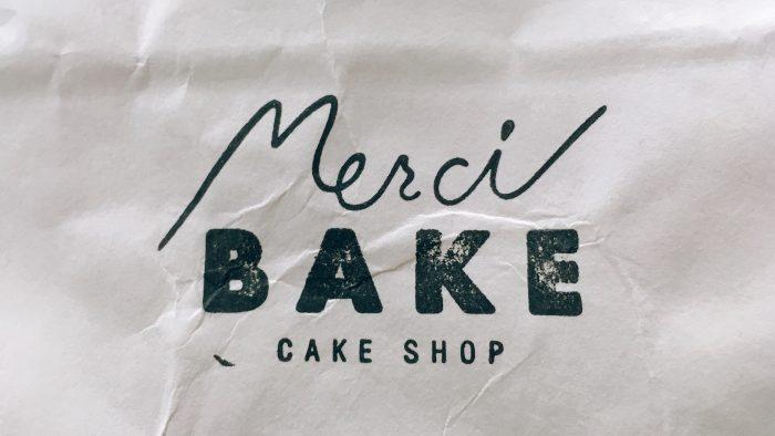 世田谷の洋菓子店メルシーベイクのロゴ