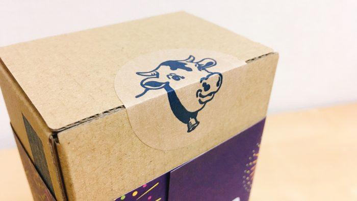 東京ミルクチーズ工場ソルト&カマンベールクッキーの牛マーク