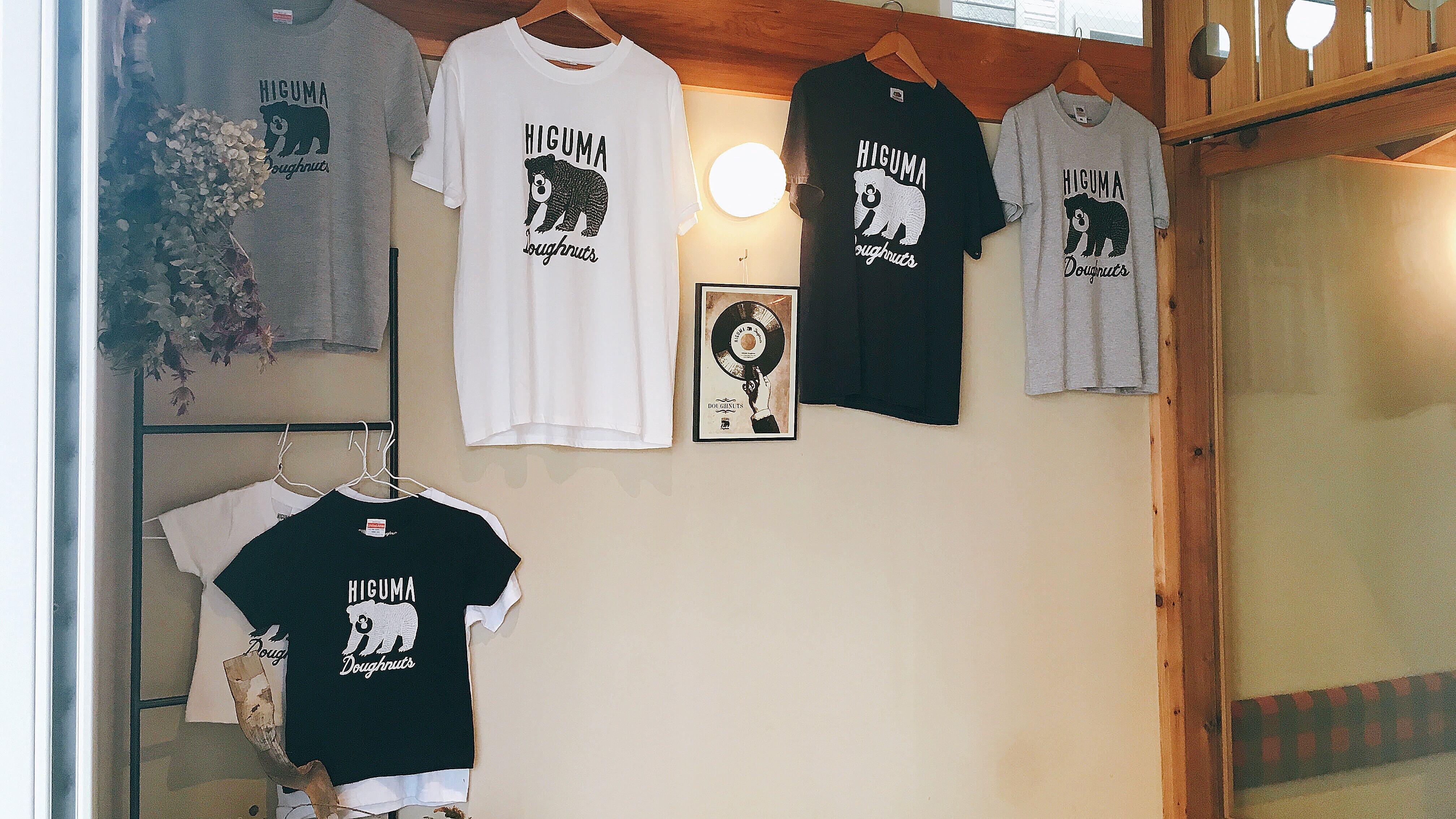HIGUMA Doughnuts(ヒグマドーナッツ)のTシャツ物販
