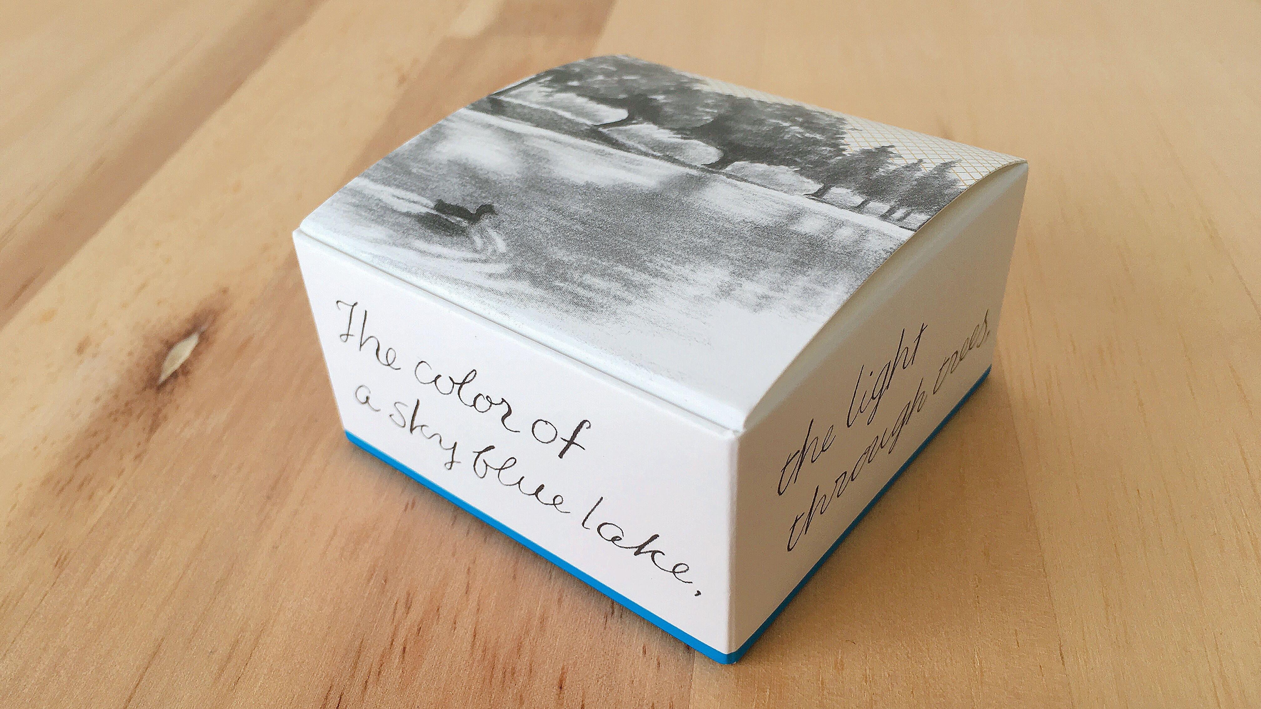 メリーチョコレートの新ブランドルルメリーのガトーショコラレーズンのボックス