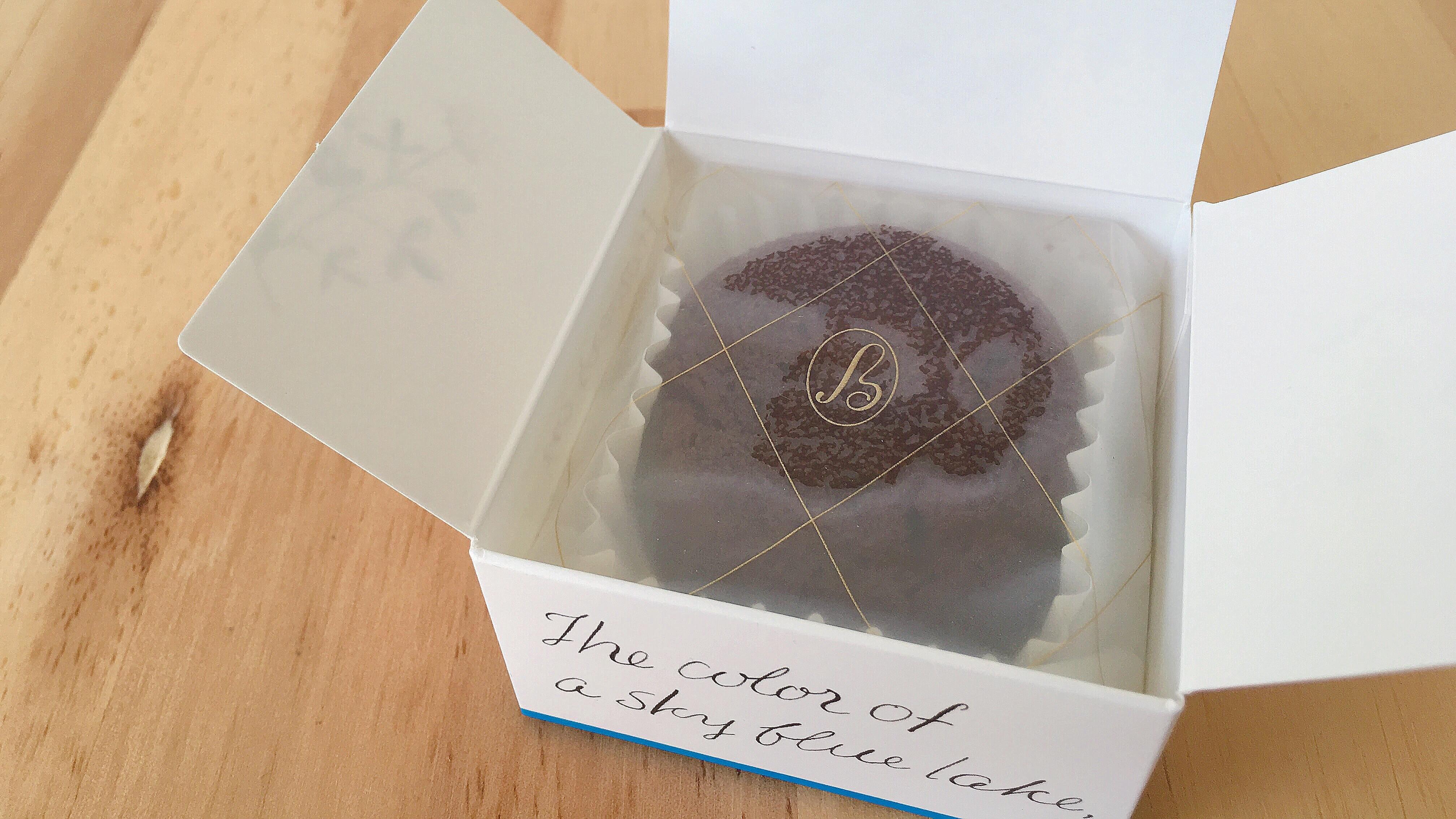 メリーチョコレートの新ブランドルルメリーのガトーショコラレーズン