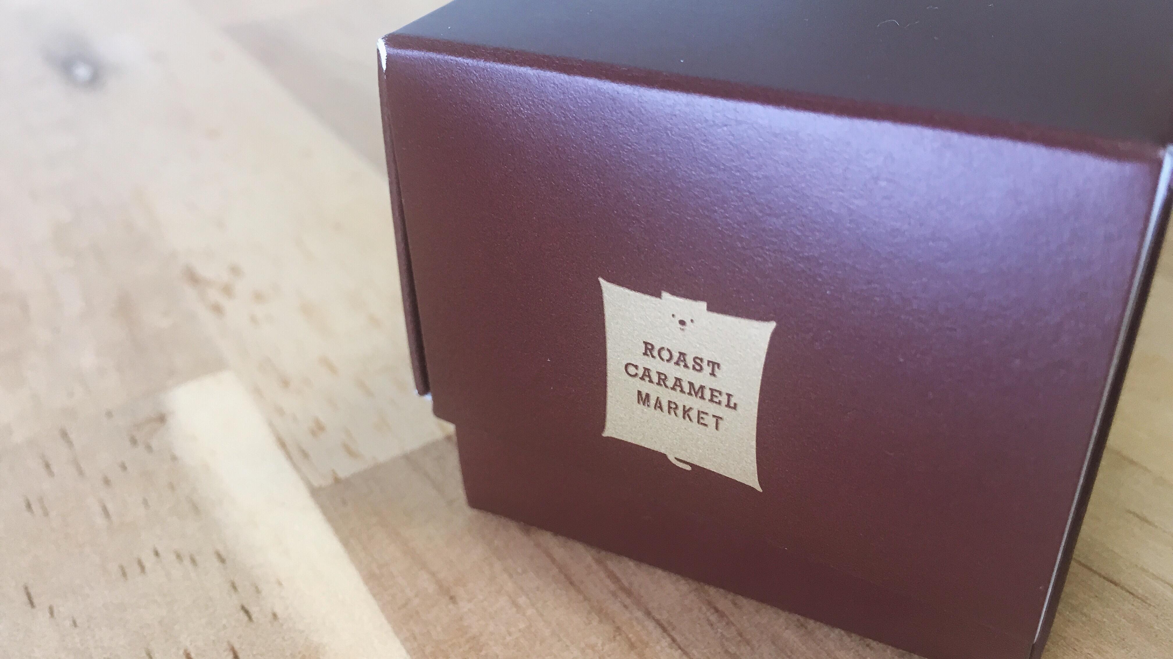 ローストキャラメルマーケットのモモンガが隠れたかわいいロゴ