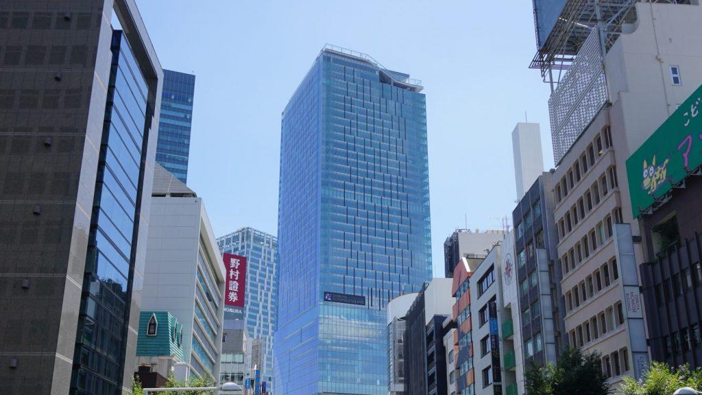 渋谷スクランブルスクエアの外観