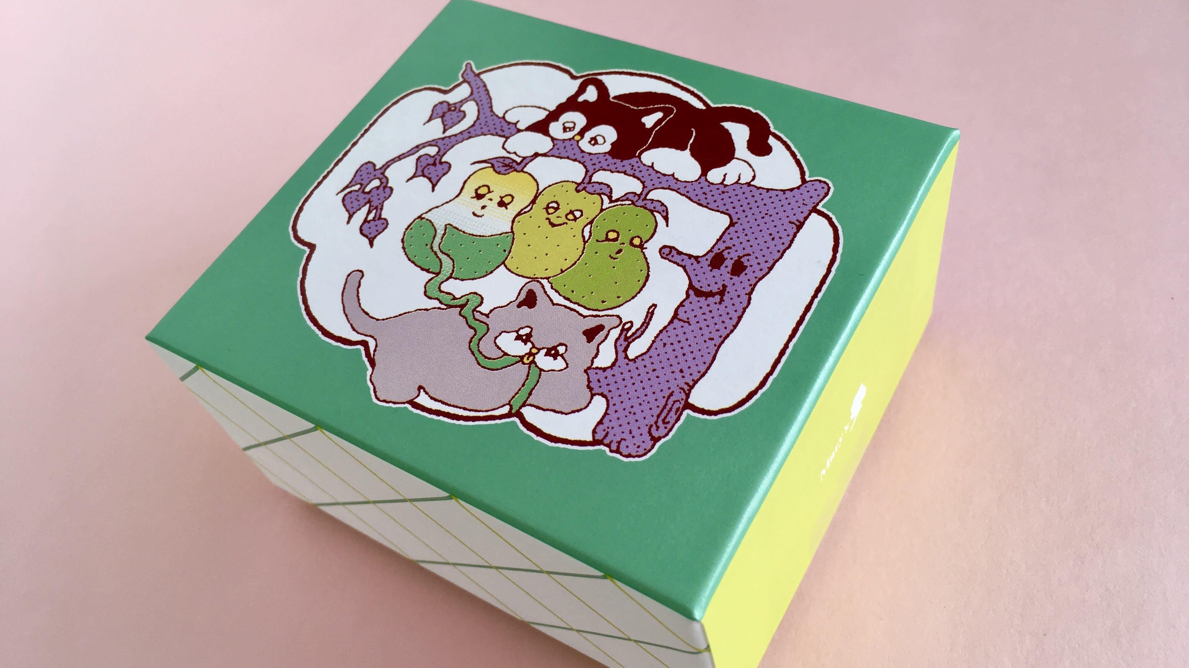 メリーズパーラーのanccoさんのイラストがかわいいパッケージ